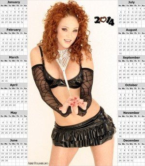 Audrey Hollander 2014 Calendar